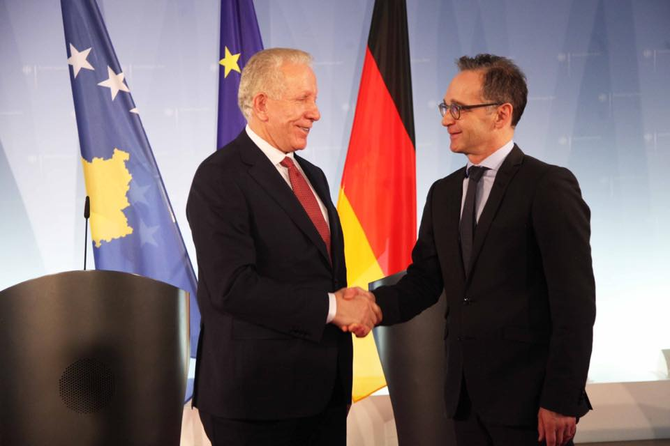 Maas: Η συμφιλίωση με τη Σερβία θα επιτρέψει την ευρωπαϊκή πορεία του Κοσσυφοπεδίου.