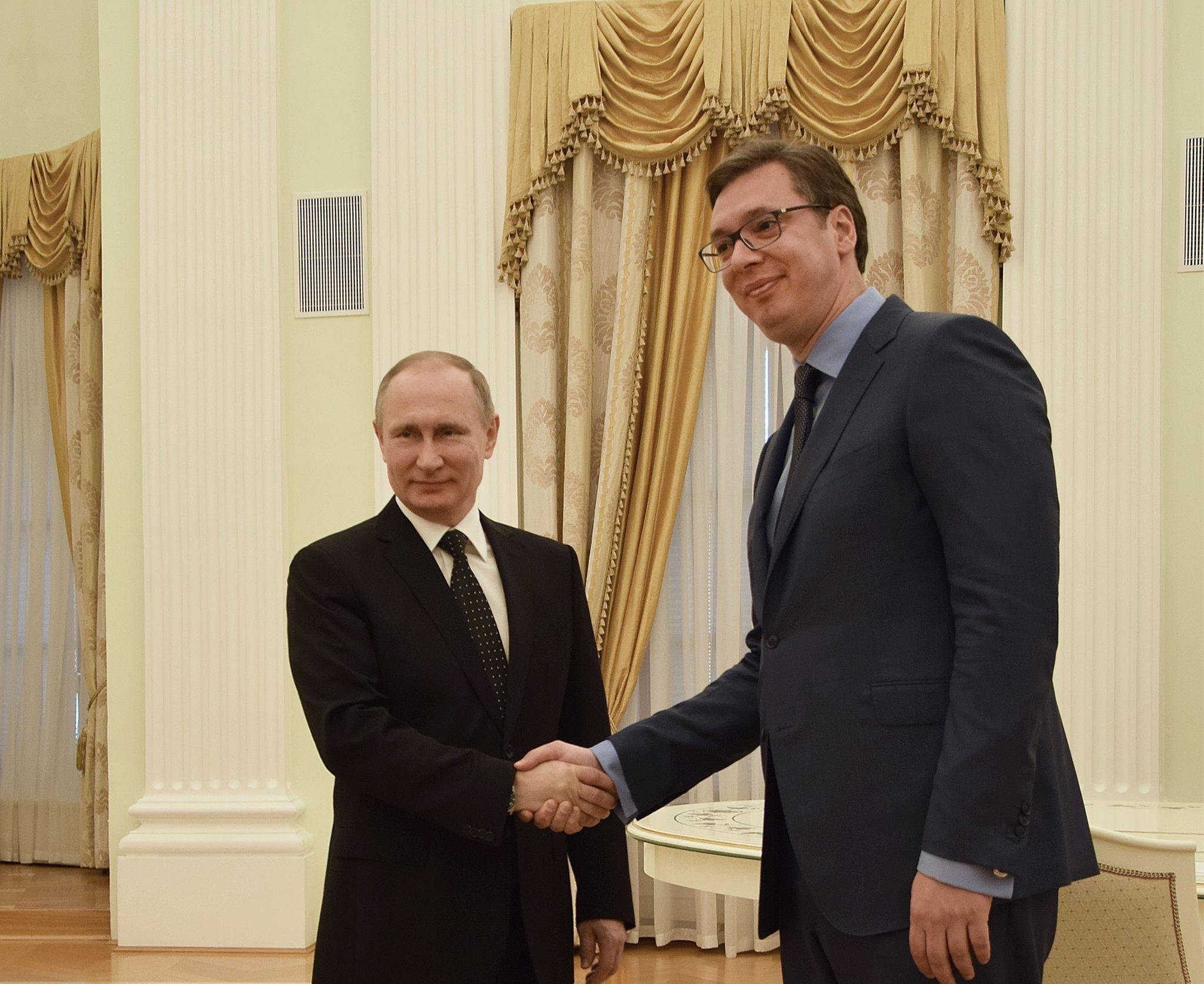 Η πλειοψηφία των πολιτικών κομμάτων υποστηρίζει την επίσκεψη του Putin στη Σερβία
