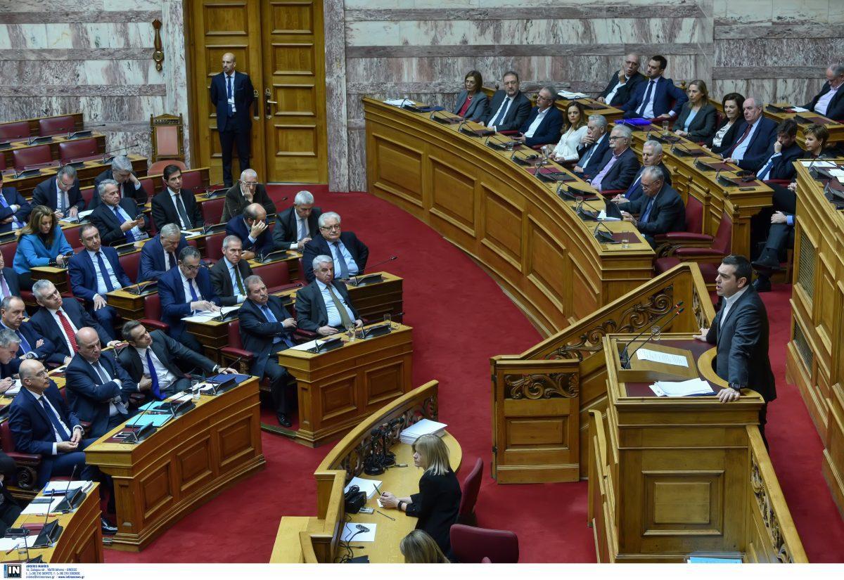 151 ψήφους υπέρ της κυβέρνησης έλαβε ο Αλέξης Τσίπρας