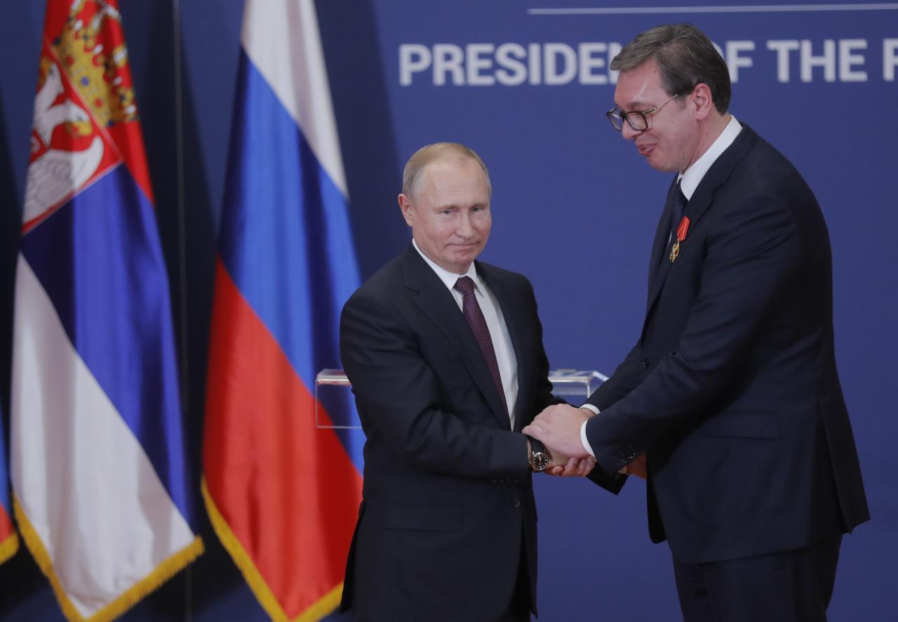 Putin: Μακρά ιστορία και παράδοση έχουν οι σχέσεις Ρωσίας-Σερβίας