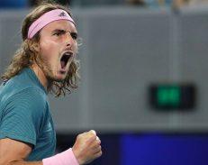 Ο Στέφανος Τσιτσιπάς για πρώτη φορά σε ημιτελικό Grand Slam