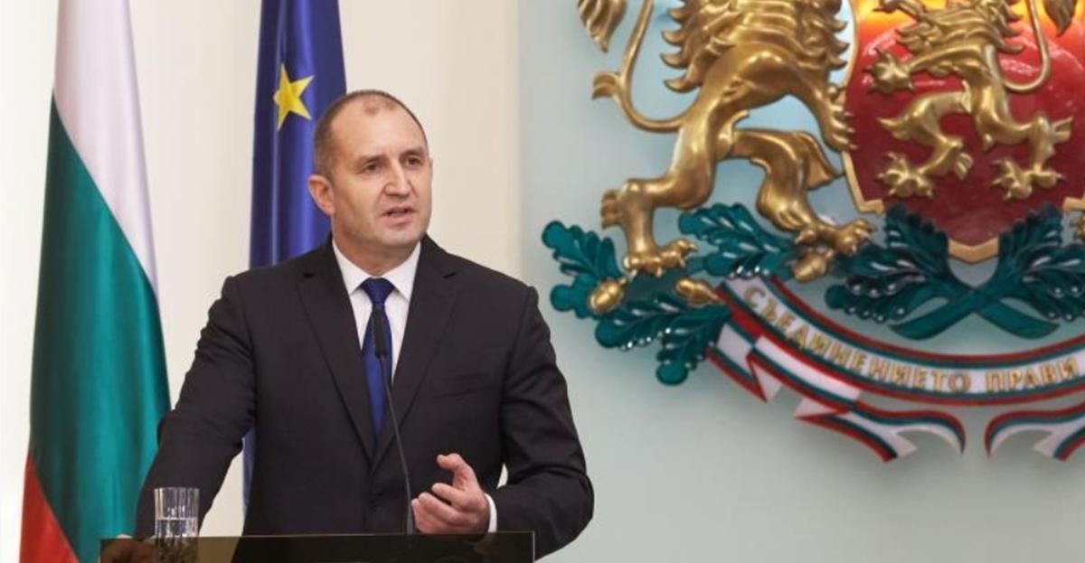 Ο πρόεδρος της Βουλγαρίας Radev θεωρεί αναπόφευκτες τις πρόωρες κοινοβουλευτικές εκλογές