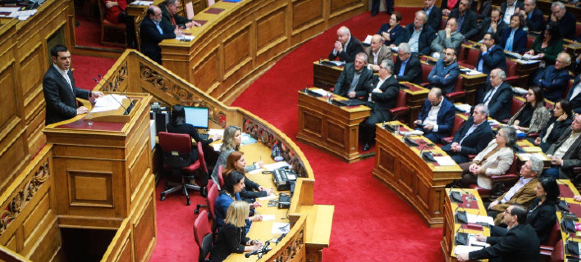 """Τσίπρας: """"Καλωσορίζω την Βόρεια Μακεδονία""""- Με 153 """"ναι"""" ψηφίστηκε η ένταξη στο ΝΑΤΟ"""