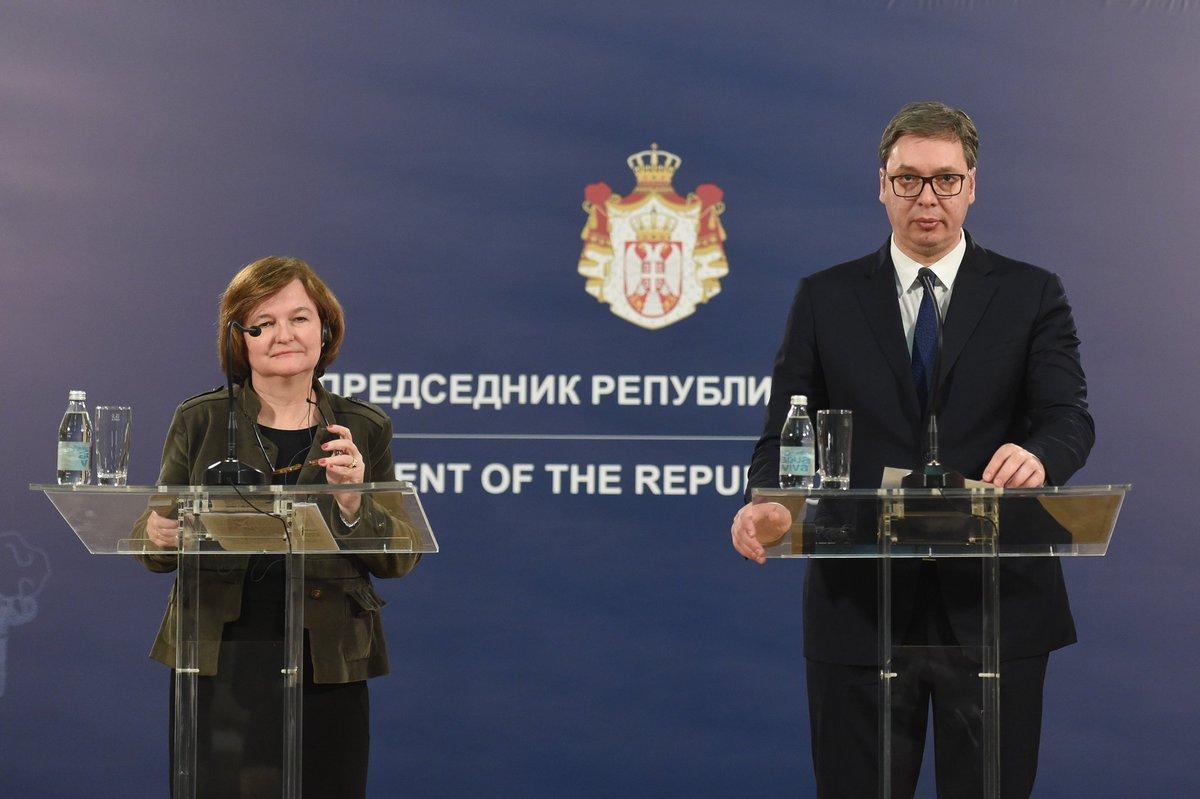 """Μηνύματα για τη Σερβία: γαλλική """"ειλικρίνεια"""", γερμανική """"απογοήτευση"""""""