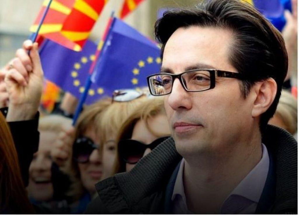 Ο Pendarovski κοινός προεδρικός υποψήφιος για τον κυβερνητικό συνασπισμό