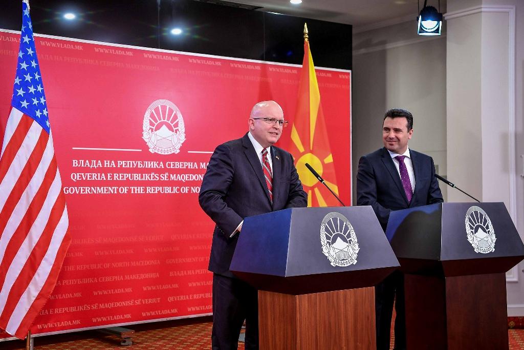 Reeker-Zaev: Η συμφωνία των Πρεσπών είναι ένα εξαιρετικό μοντέλο για τα Βαλκάνια