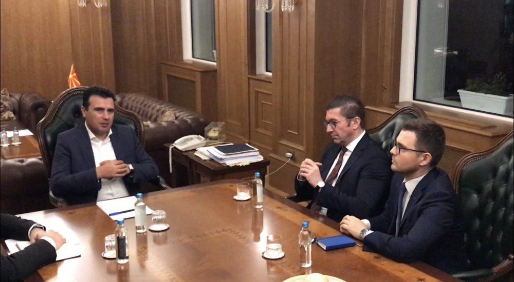 Ο Zaev και ο Mickoski δεσμεύτηκαν για δίκαιες και δημοκρατικές εκλογές