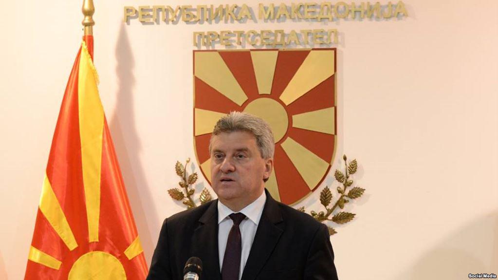 Ο Πρόεδρος Ivanov αρνείται να υπογράψει 11 νομοσχέδια με το νέο όνομα