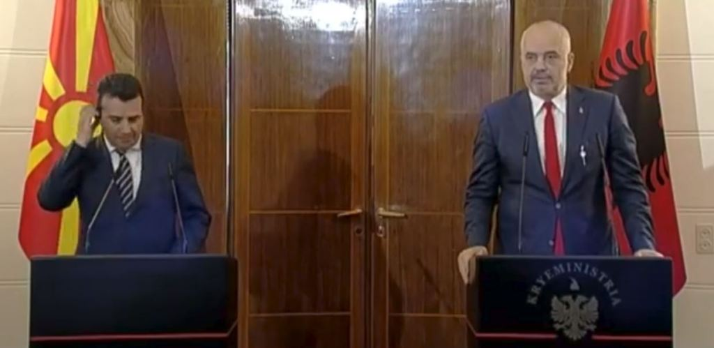 Συνάντηση Rama-Zaev, εντατικοποιείται η συνεργασία μεταξύ των δύο χωρών
