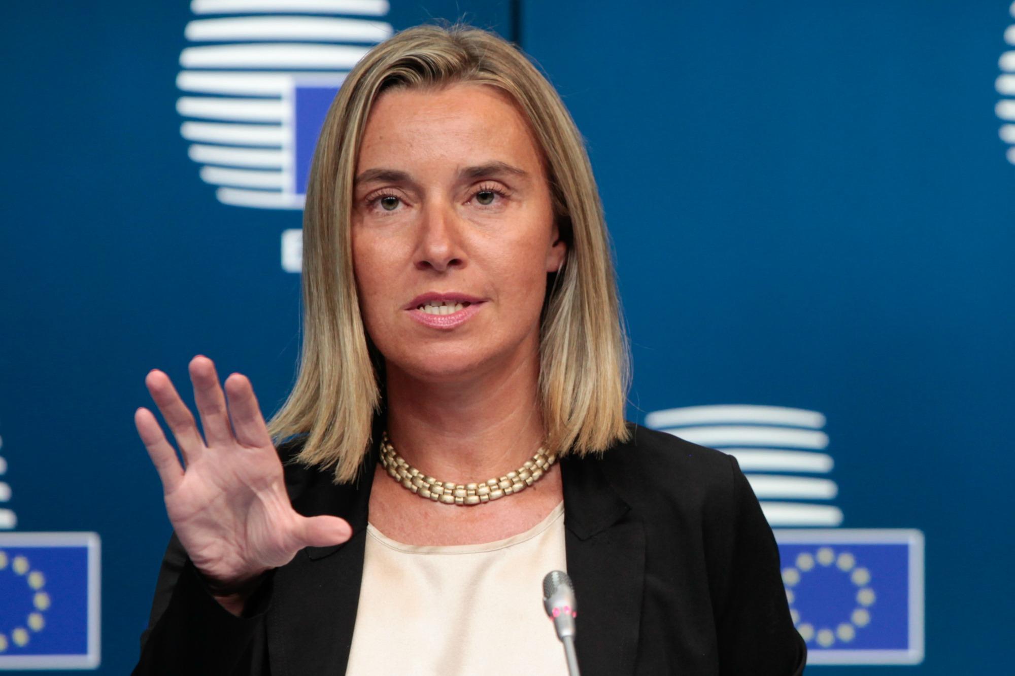 Mogherini: Η συμφωνία μεταξύ Πρίστινας και Βελιγραδίου θα πρέπει να έχει την υποστήριξη το ΟΗΕ