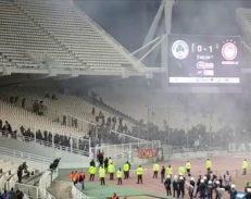 Πρώτη εφαρμογή του νέου σκληρότερου αθλητικού νόμου στην Ελλάδα μετά τα νέα επεισόδια