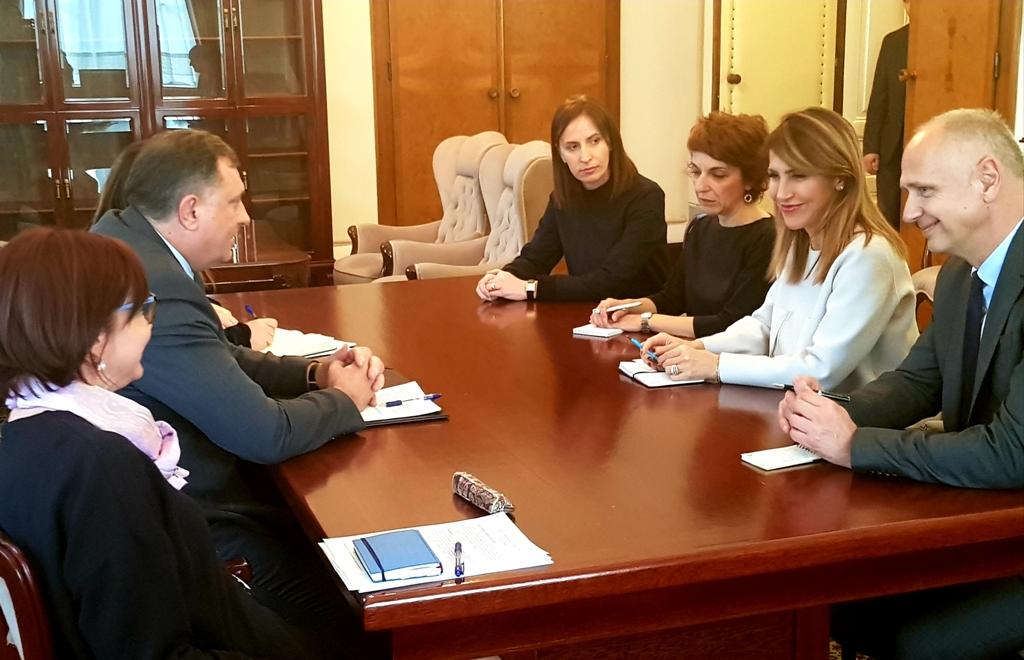 H επικεφαλής του RCC συναντήθηκε με τον πρόεδρο της Βοσνιακής Προεδρίας