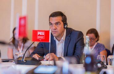 Ο Τσίπρας καλεί τους προοδευτικούς να ενωθούν ενάντια στην άκρα δεξιά στη συνάντηση του ΕΣΚ