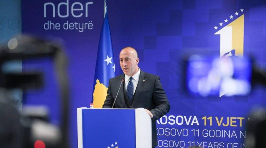 Haradinaj: «Τα Βαλκάνια δεν θα βρουν ειρήνη μέχρι η Σερβία να παραδεχθεί τα εγκλήματά της»