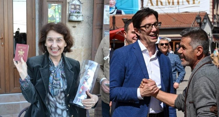 Βόρεια Μακεδονία: Pendarovski και Siljanovska θα δώσουν τη μάχη στις προεδρικές εκλογές