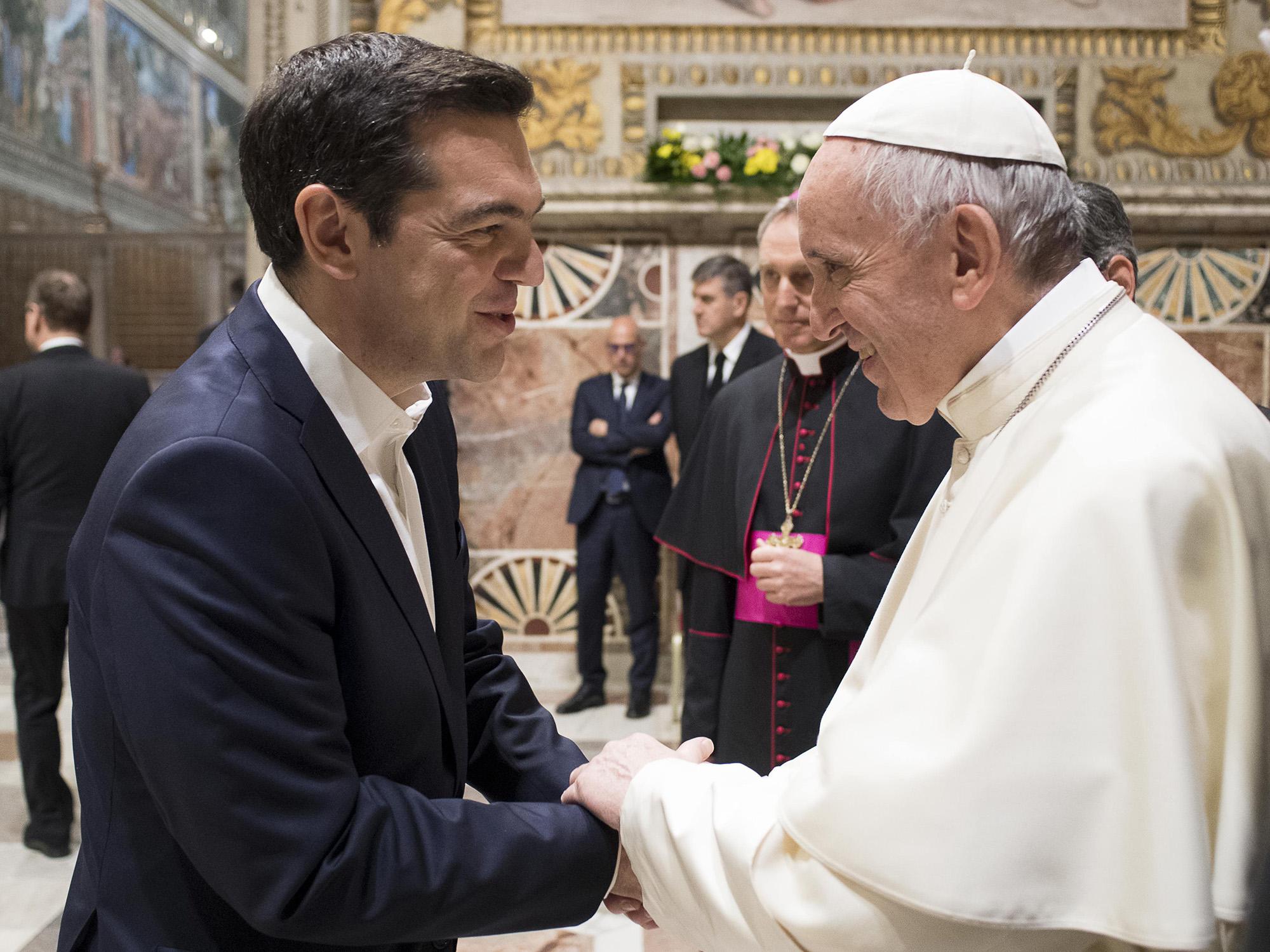 Πάπας Φραγκίσκος: Μια φράση του κ. Τσίπρα «αξίζει το Βραβείο Νόμπελ»