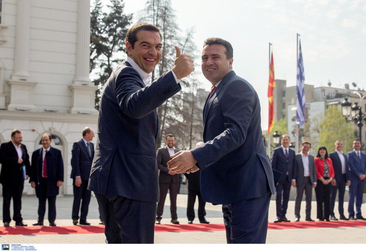 Θετική αποτίμηση της Αθήνας για την επίσκεψη Τσίπρα στην Βόρεια Μακεδονία