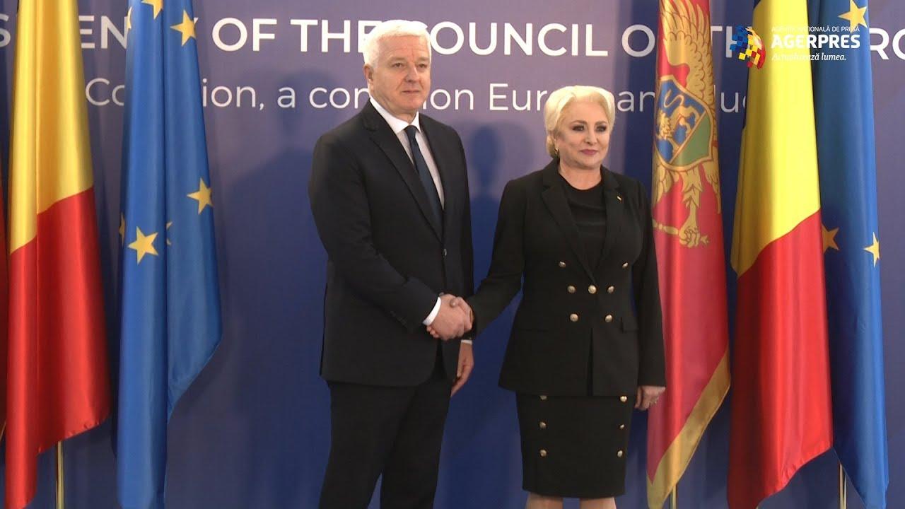 Σε θετικό κλίμα η επίσκεψη του Μαυροβούνιου Πρωθυπουργού στη Ρουμανία