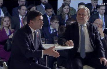 Ο Dimitrov συμμετέχει στις δραστηριότητες για την 70η επέτειο του ΝΑΤΟ