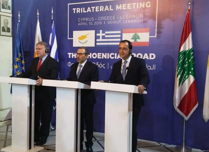 Χτίζει και με Λίβανο τη γραμματεία των τριμερών η Λευκωσία
