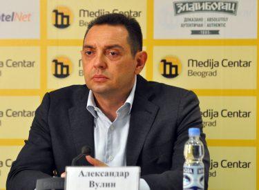 """O Vulin επαναλαμβάνει τις ανησυχίες του για την """"Μεγάλη Αλβανία"""""""