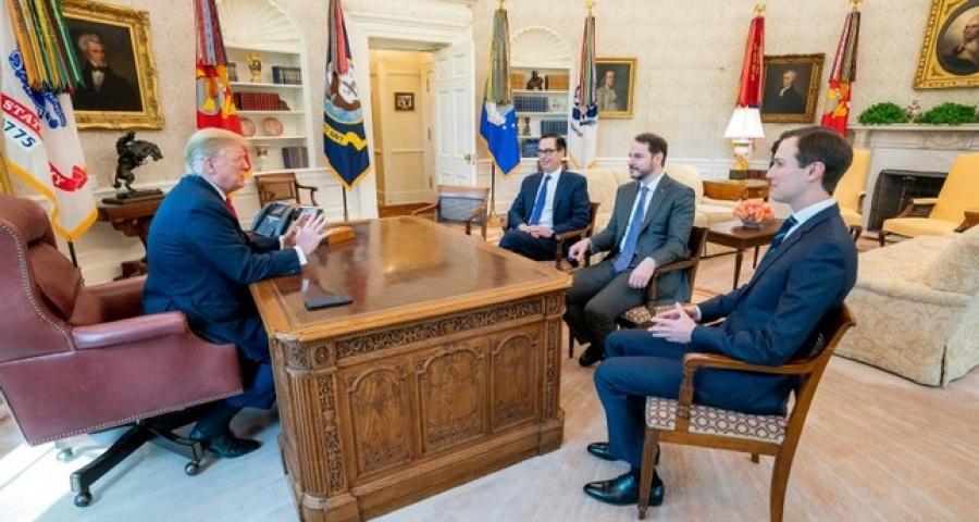 Συνάντηση Albayrak Trump στον Λευκό Οίκο