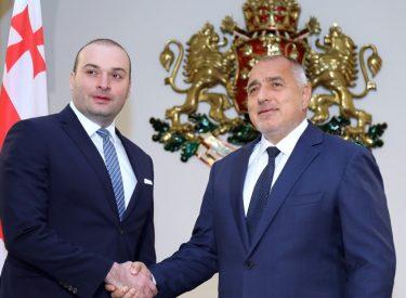 Οι πρωθυπουργοί Βουλγαρίας – Γεωργίας συζήτησαν για τη θαλάσσια σύνδεση των χωρών τους