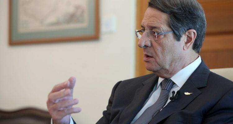 Αναστασιάδης: Να ενισχυθεί η ελπίδα που αφήνει ο ΓΓ των ΗΕ
