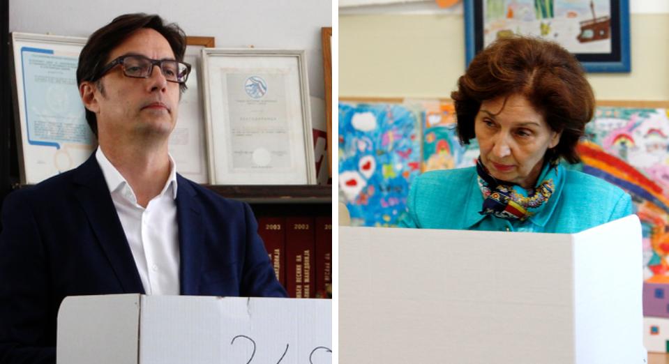 Δηλώσεις των υποψήφιων προέδρων Slijanovska, Pendarovski και Reka