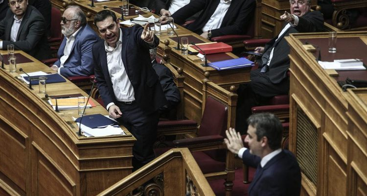 """""""Ραντεβού"""" στην βουλή δίνουν Τσίπρας και Μητσοτάκης μετά το Πασχα"""