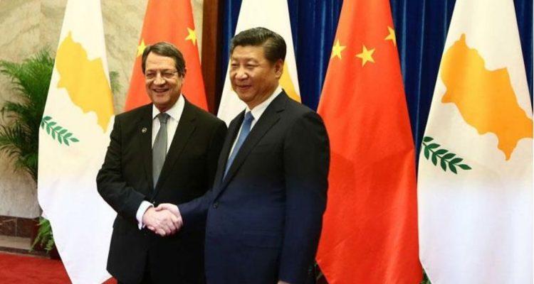 Συνάντηση Αναστασιάδη με τον Πρόεδρο της Κίνας