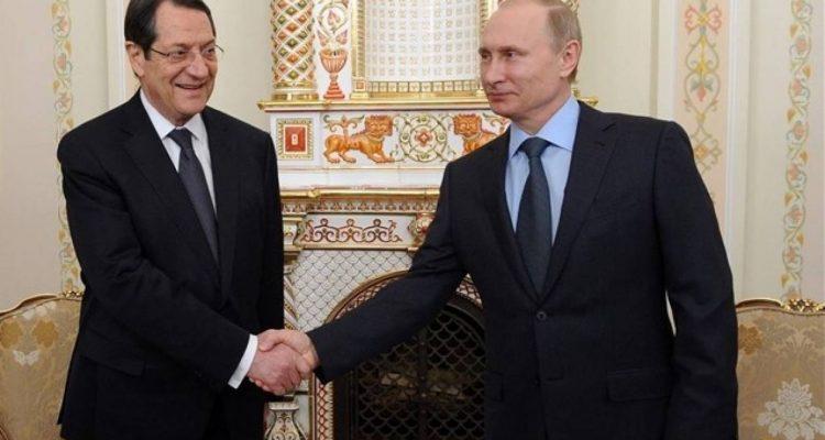 Συνάντηση Αναστασιάδη-Putin στο Πεκίνο