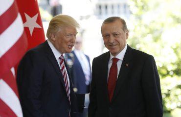 Τηλεφωνική συνομιλία Τραμπ-Ερντογάν