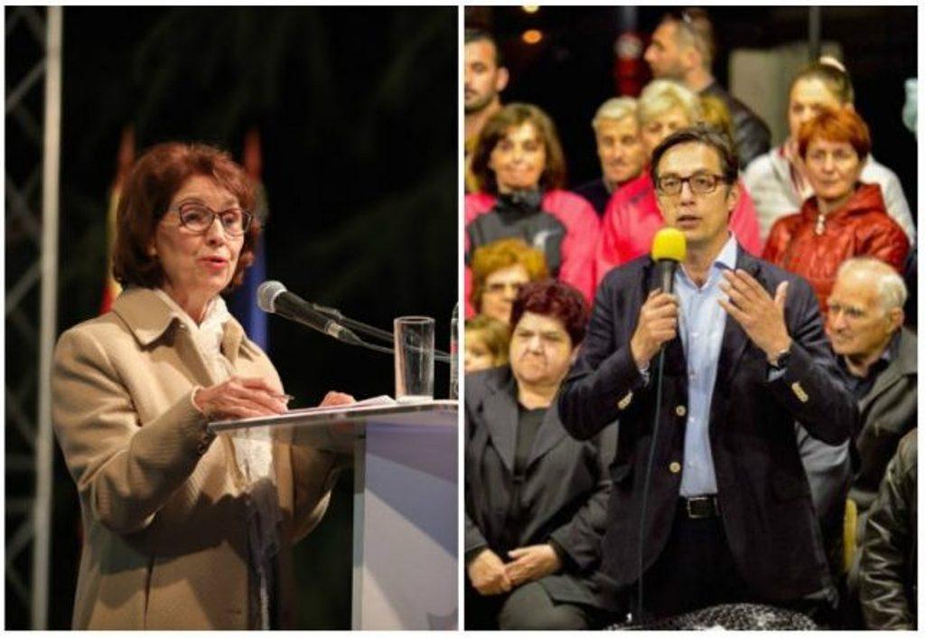 Οι υποψήφιοι για την προεδρία στη Βόρεια Μακεδονία απευθύνουν έκκληση για μεγάλη προσέλευση στις κάλπες