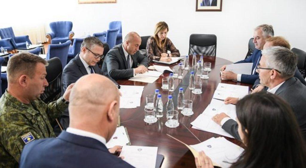 Η ένταξη του Κοσσυφοπεδίου στο ΝΑΤΟ αποτελεί πρώτη προτεραιότητα, λέει ο Haradinaj