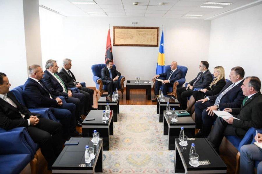 Το Κοσσυφοπέδιο και η Αλβανία πρέπει να συντονίσουν τις θέσεις τους, λέει ο Haradinaj