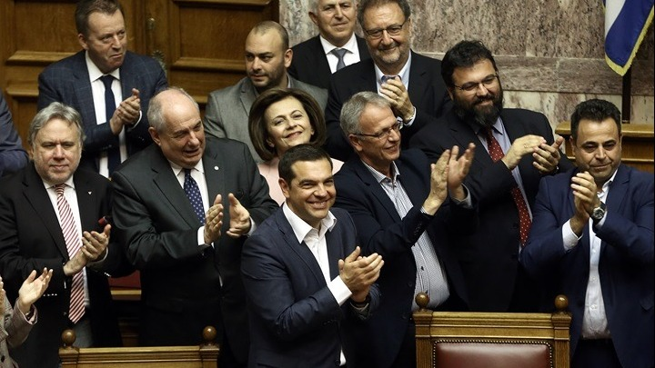 Ενισχυμένη η κυβέρνηση στην ψήφο εμπιστοσύνης