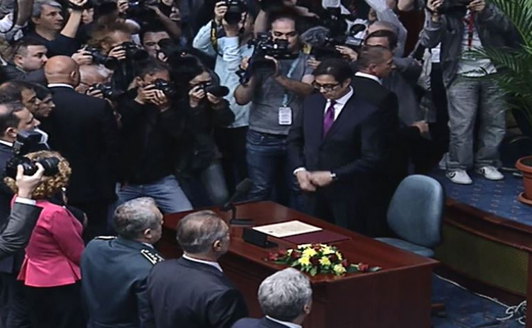 O Stevo Pendarovski ορκίστηκε Πρόεδρος της Βόρειας Μακεδονίας