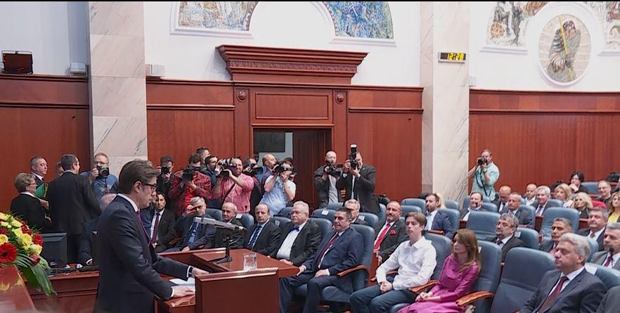 Μικτές αντιδράσεις στη Βόρεια Μακεδονία μετά την ορκομωσία του Προέδρου