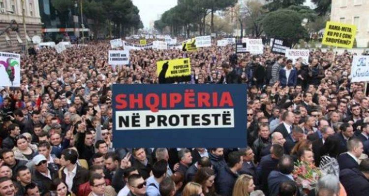 Η αντιπολίτευση στην Αλβανία ετοιμάζεται για τη σημερινή διαμαρτυρία