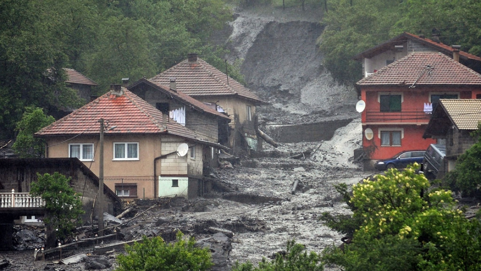 Βαλκάνια: Σε ετοιμότητα οι αρχές για πλημμύρες