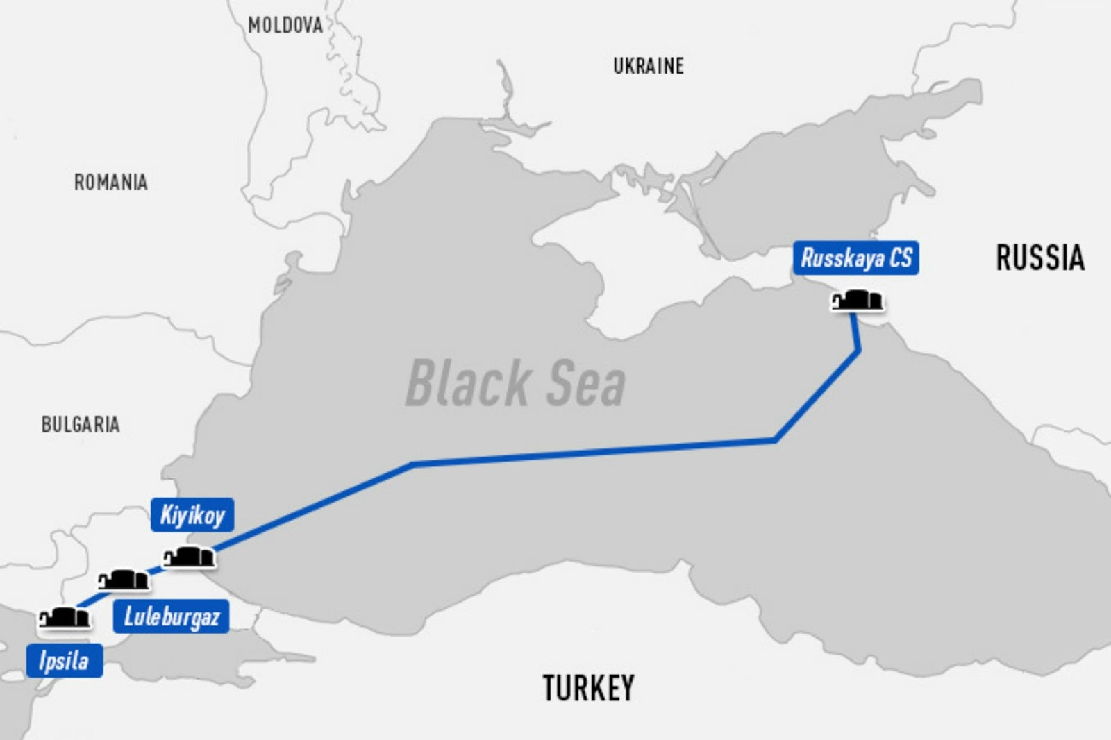 Τον Δεκέμβριο βάζει μπροστά ο αγωγός Turkish Stream