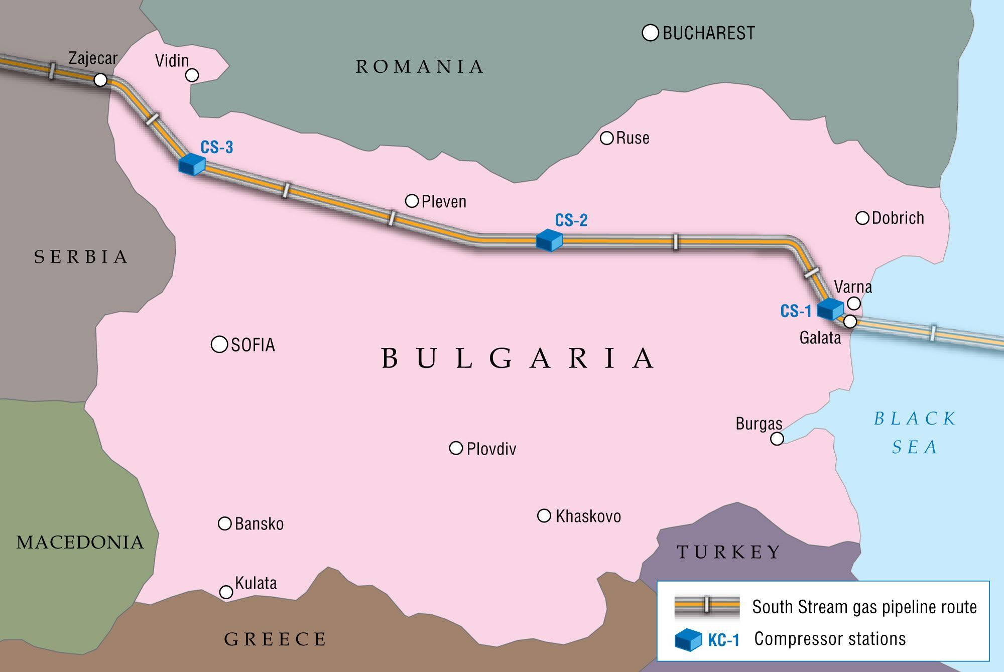 Επαφές Σερβίας – Βουλγαρίας για τον «βαλκανικό αγωγό»
