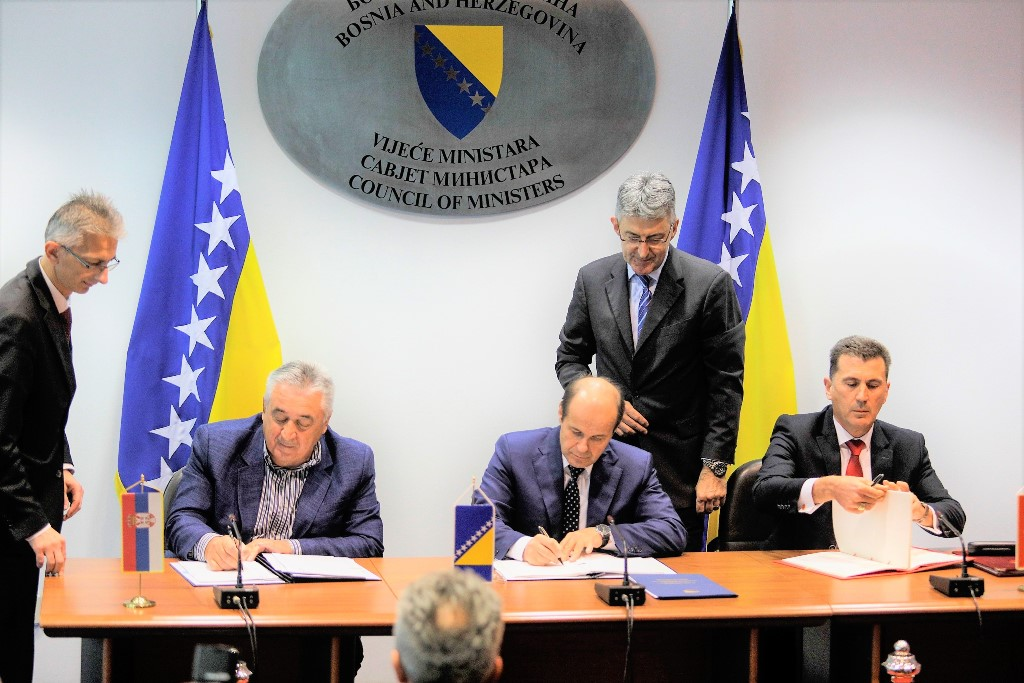 Μαυροβούνιο, Β-Ε και Σερβία υπέγραψαν το πρωτόκολλο τριπλού σημείου ελέγχου διέλευσης