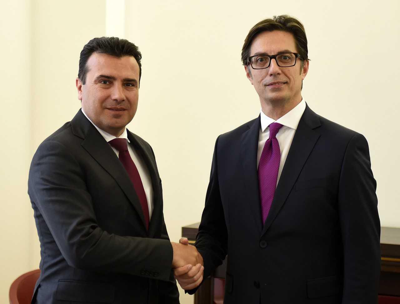 Zaev-Pendarovski χαράσσουν κοινή ατζέντα εξωτερικής πολιτικής