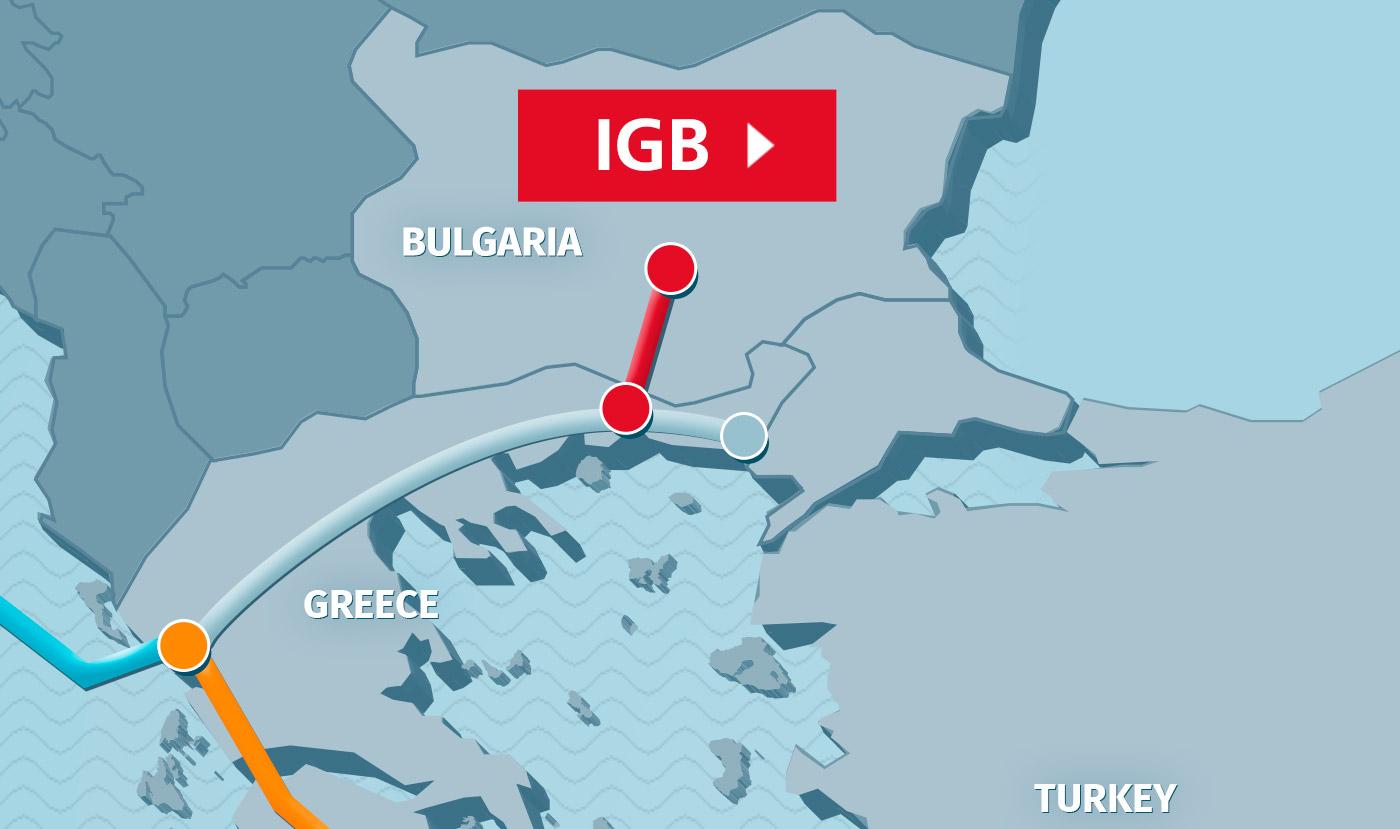 Βουλγαρία: Στις 22 Μαΐου ξεκινούν οι εργασίες για τον IGB
