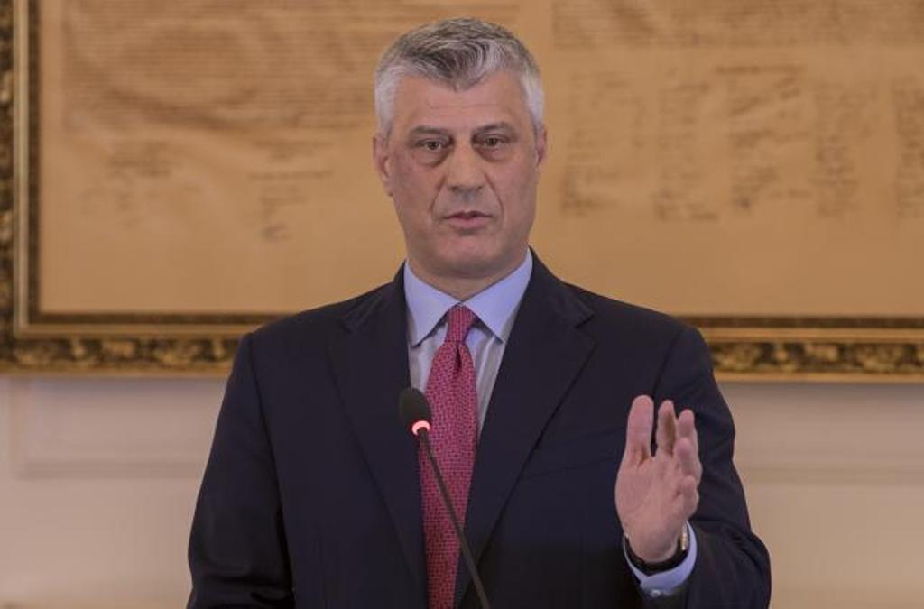 Η γενοκτονία των Σέρβων στο Κοσσυφοπέδιο πρέπει να καταδικαστεί, λέει ο Thaci