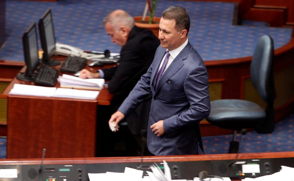 Το Κοινοβούλιο στη Βόρεια Μακεδονία θα συζητήσει για τη βουλευτική ιδιότητα του Gruevski