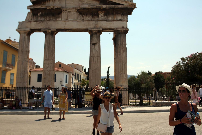 Συνεχίζεται η άνοδος του τουρισμού στην Ελλάδα