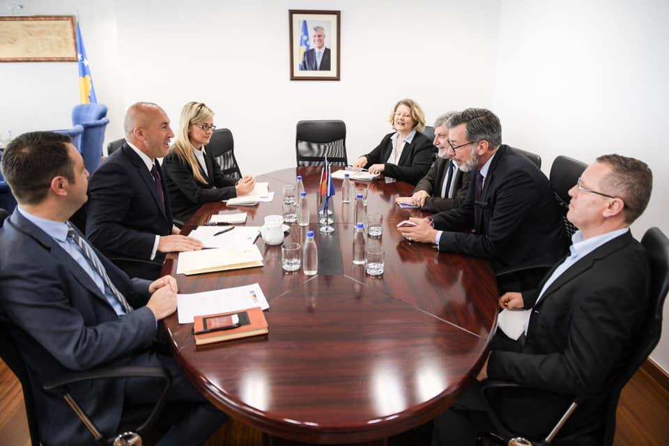 Η αμοιβαία αναγνώριση με τη Σερβία πρέπει να γίνει με τα υπάρχοντα σύνορα, λέει ο Haradinaj